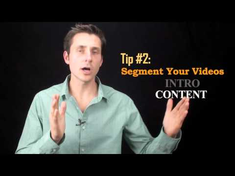 How to Shave Time Off Your Video Blogging Efforts (2 Tips)