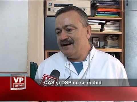 CAS şi DSP nu se închid