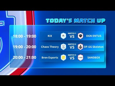 Clash Royale League Asia - Week 5 Day 1