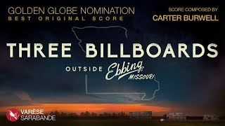 OSCAR Nominated: Carter Burwell - Three Billboards Visual Soundtrack