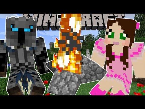 Minecraft: WE'RE GOING CAMPING! (CAMPFIRE, HAMMOCK, SLEEPING BAG & MORE!) Custom Command