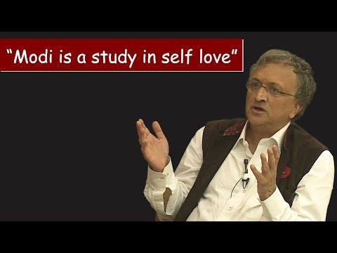 """Modi is a study in self love,"" Ram Guha at The Wire Dialogues"