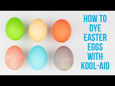 Video How To Dye Easter Eggs With Kool-Aid download in MP3, 3GP, MP4, WEBM, AVI, FLV January 2017