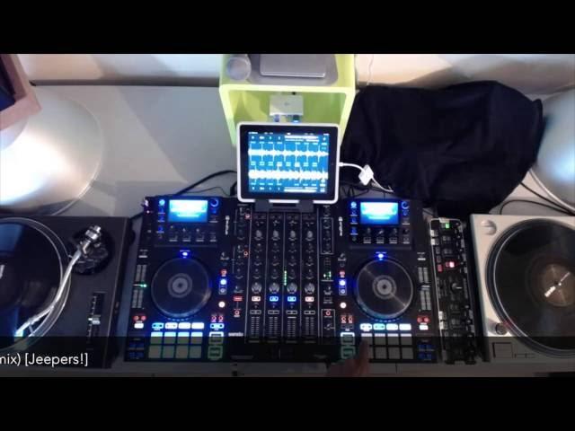 Denon MCX8000 Midi Map DJ Player iOS by HETTO