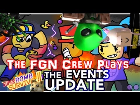 The FGN Crew Plays Roblox Super Bomb Survival Events Update (PC)