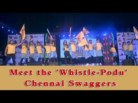 Meet the 'Whistle-Podu' Chennai Swaggers