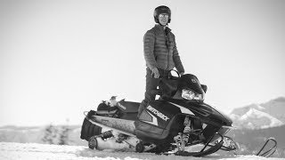 FIRST TIME SNOWMOBILING!