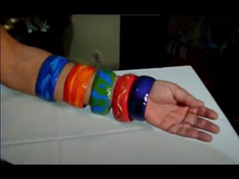 Como fazer pulseiras e braceletes com sucata