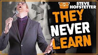 Heckler Gets Owned - Why You Don't Interrupt a Comedian - Steve Hofstetter