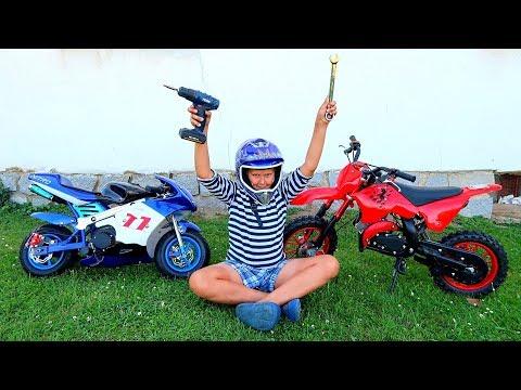 Crazy FWD and AWD Motorcycles - Thời lượng: 10 phút.