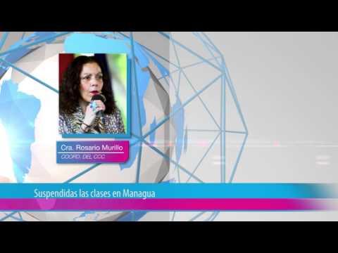 Suspendidas las clases en Managua