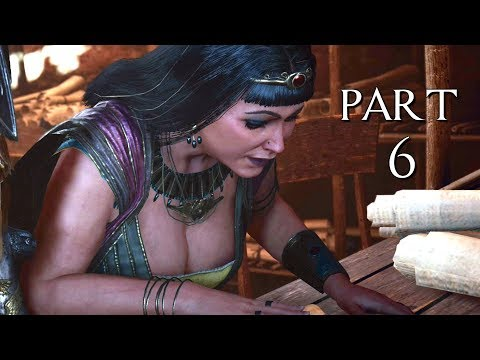 ASSASSIN'S CREED ORIGINS CURSE OF THE PHARAOHS \