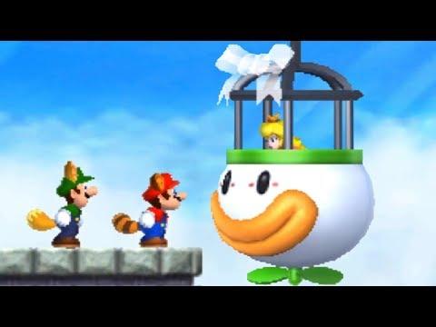 New Super Mario Bros 2 - All Final Castles (2 Player) (видео)