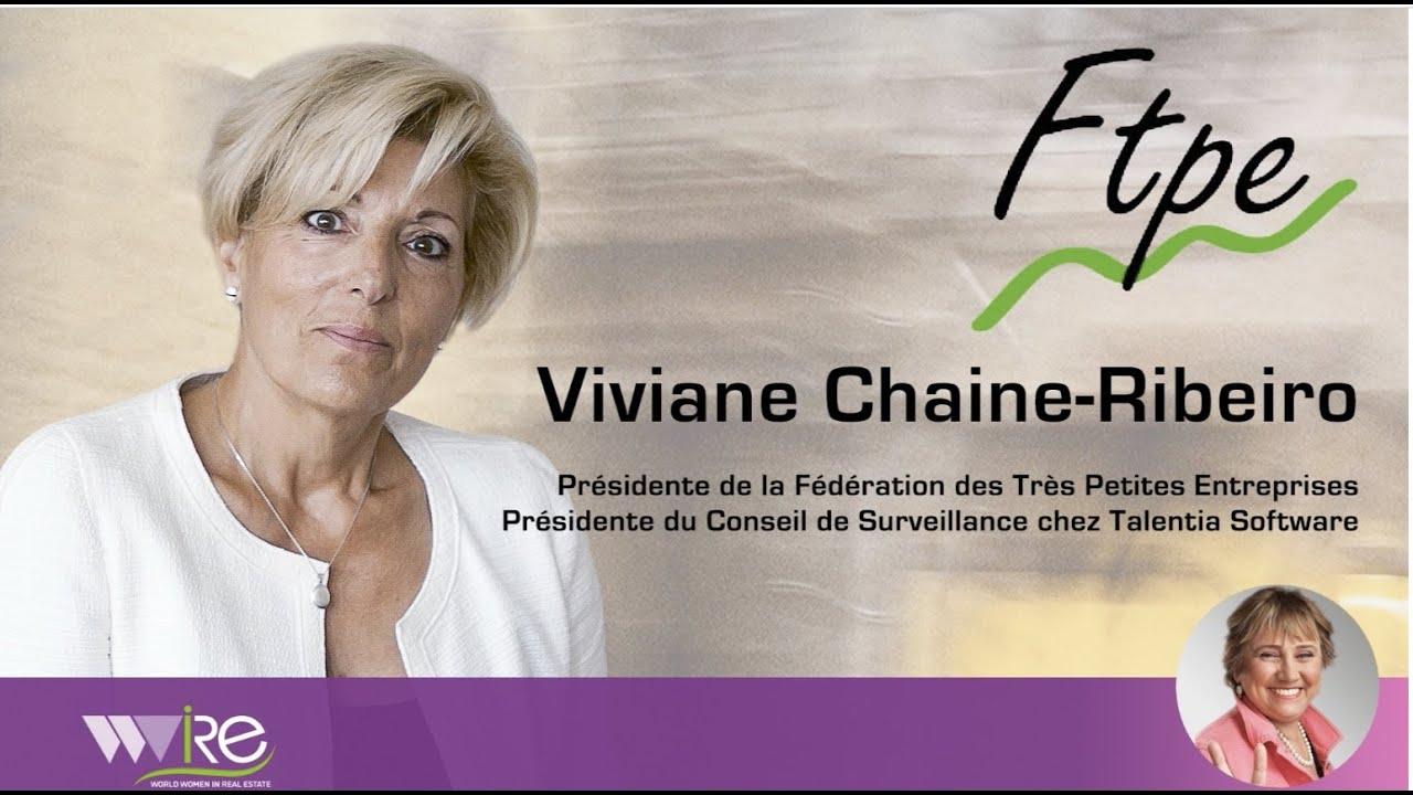 Interview WWIRE de Viviane Chaine-Ribeiro Présidente de la Fédération des Très Petites Entreprises
