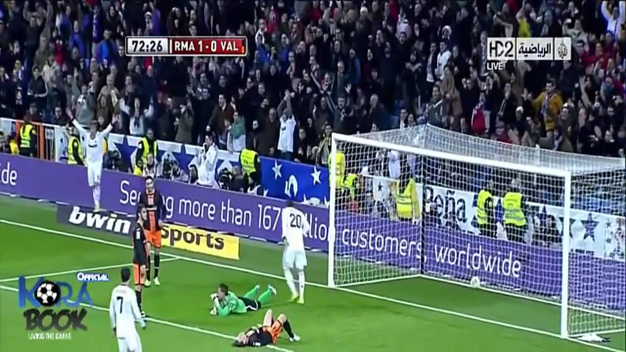 Real Madrid vs Valencia 2-0 All Goals Full Highlights 15-1-2013 HD