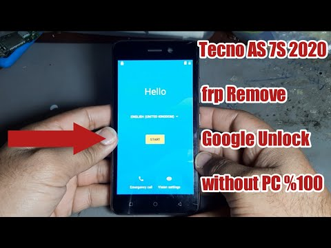 tecno AS7S 2020 Google Account Bypass Android 8.0 FRP Remove Google Unlock without PC New Method