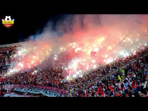 Especial Santa Fe Campeón 2016-II: La estrella se tiñó de rojo - La Guardia Albi Roja Sur - Independiente Santa Fe