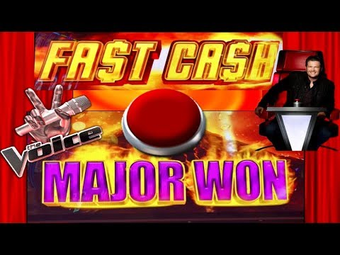 MAJOR WIN★BIG WIN SLOT MACHINE $$$ FAST CASH! THE VOICE BONUSES★CASINO GAMBLING!