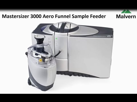 Aero Funnel Sample Feeder for Mastersizer 3000 Particle Size Analyzer