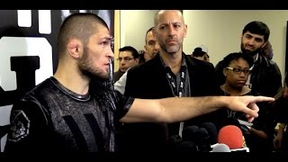 Video Khabib Nurmagomedov Blasts 'BS' UFC Contract to Fight Eddie Alvarez MP3, 3GP, MP4, WEBM, AVI, FLV Oktober 2018