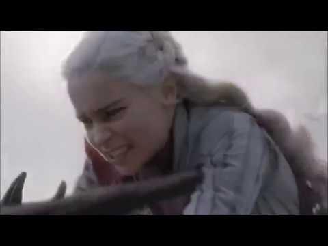 Daenerys Targaryen's Dragons (Games of Thrones Season 8)