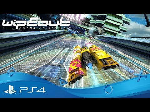 WipEout Omega Collection PS4 запись стрима (геймплей, обзор)