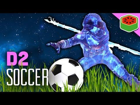 THE FUTURE OF SOCCER | Destiny 2 Beta Gameplay