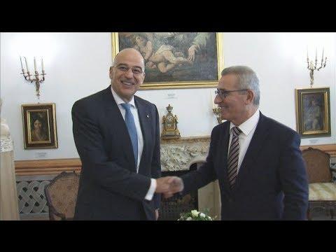 Με τον υπουργό Εξωτερικών της Μάλτας συναντήθηκε ο Ν. Δένδιας