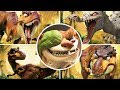 Ice Age 3: Dawn Of The Dinosaurs All Bosses ps3 X360 Wi