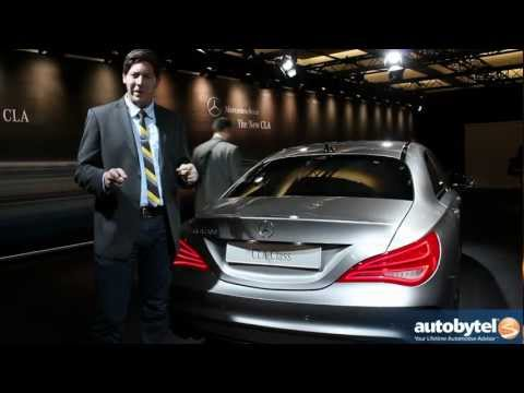Mercedes-Benz CLA-Class Private View Video at the 2013 Detroit Auto Show