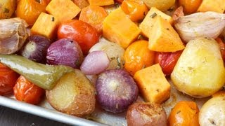 Roasted Vegetables (Qudaar La Foorneeyay) صينية الخضار بالفرن
