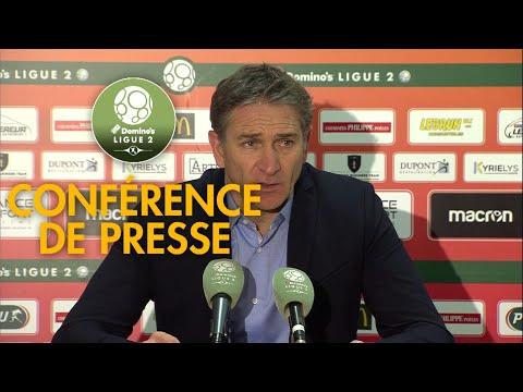 Conférence de presse RC Lens - AS Nancy Lorraine ( 2-1 )  / 2018-19