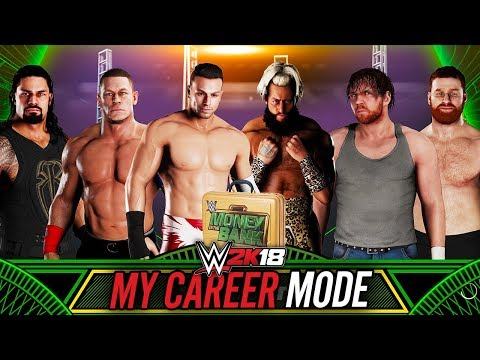 WWE 2K18 My Career Mode - Ep 23 - MONEY IN THE BANK MATCH!!