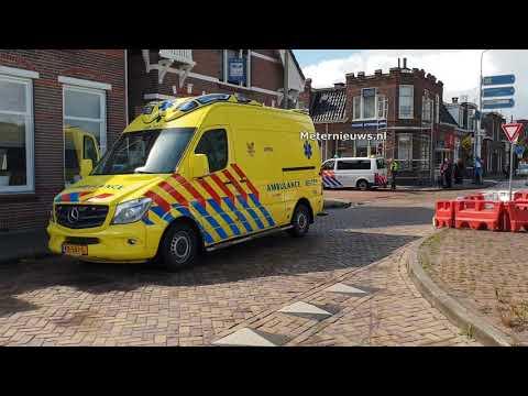 Scooterrijder gewond bij ongeluk in Assen.