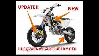 9. Husqvarna FS450 Supermoto Updated