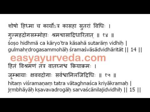 Video Ashtanga Hrudaya Sutrasthana 4th Chapter Shloka Recitation download in MP3, 3GP, MP4, WEBM, AVI, FLV January 2017