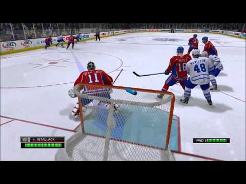 NHL 13 Be a pro goalie ep4: sent to the minors