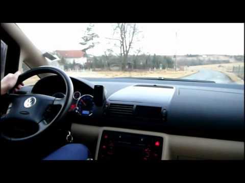 Krátké video; Volkswagen Sharan 1.9 TDI - nastartování a krátká jízda