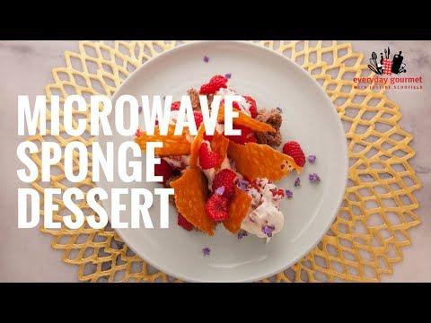 CSR Microwave Sponge Dessert | Everyday Gourmet S6 EP38