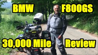 1. BMW F800GS, 30,000 Mile Update & Review