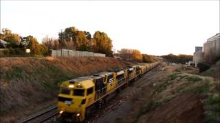 Wallendbeen Australia  City new picture : SSR Grain Train #3142 - Wallendbeen, NSW