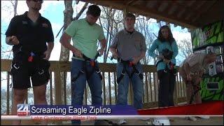 Grand Opening of New Zipline Canopy Tour