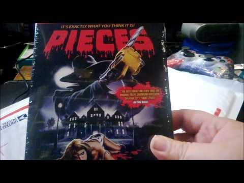 Pieces blu ray unboxing