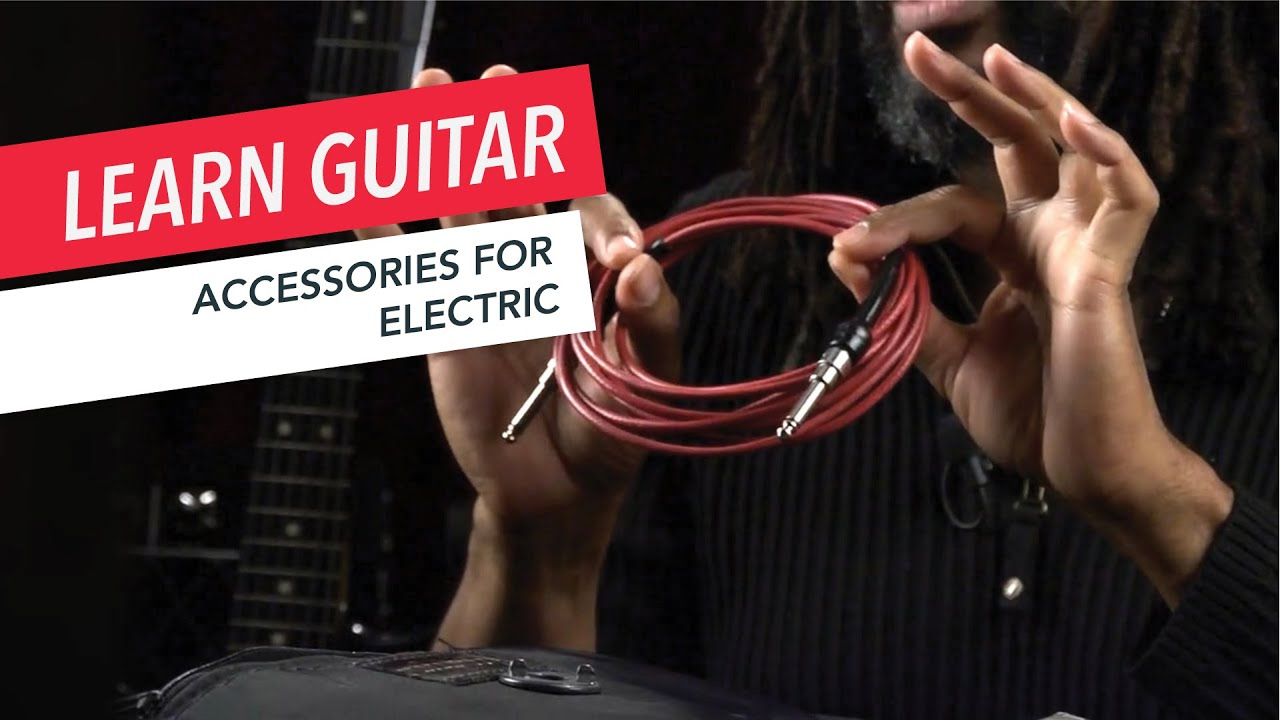 Beginner Guitar Lessons: Essential Accessories for Your Electric | Guitar | Lesson | Beginner