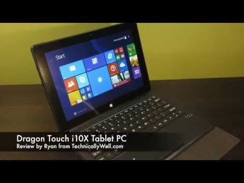 Dragon Touch i10X Tablet PC Review