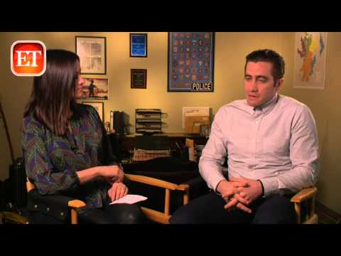 Jake Gyllenhaal - Entertainment Tonight visits the set of 'Prisoners' and talks with Hugh Jackman and Jake Gyllenhaal. 'Prisoners' hits theaters September 20, 2013.