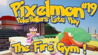 Pixelmon Server Minecraft Pokemon Mod Pokeballers Lets Play! Ep 19 - The Fire Gym!