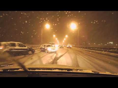 Аварии из за снега в Ярославле