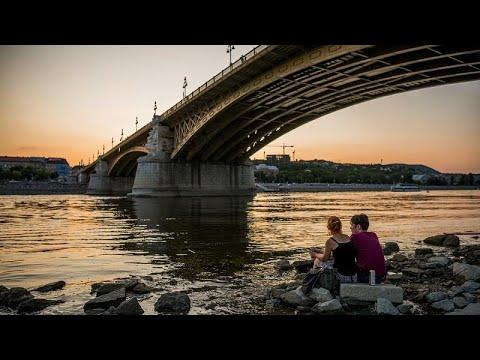Η στάθμη του Δούναβη σε χαμηλό ρεκόρ