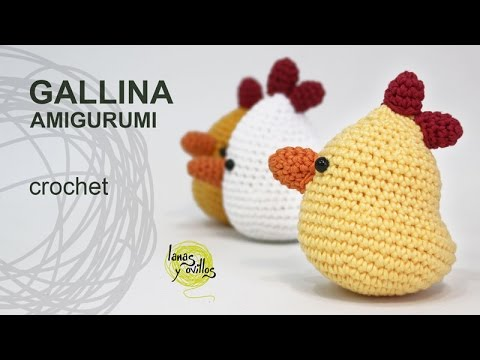 amigurumi tutorial - gallina